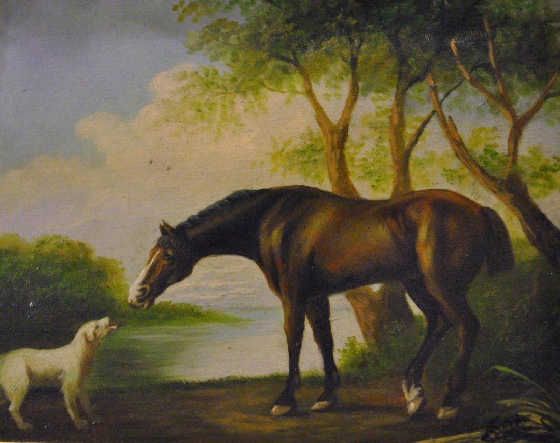 Bates (British School, 20th Century), BROWN HORSE WITH
