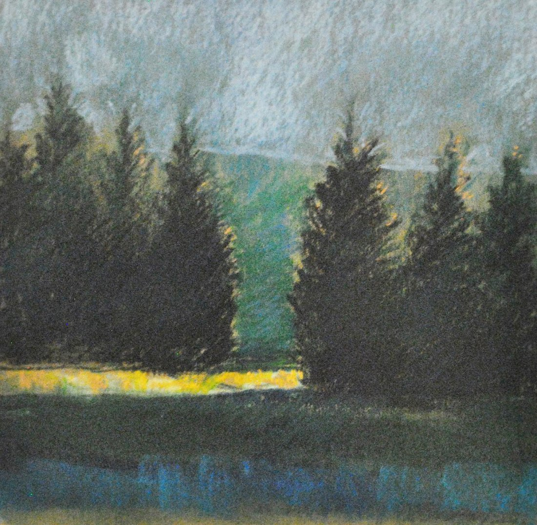 Buday, Laszlo (Hungarian/Canadian), SPRUCES DARK AND