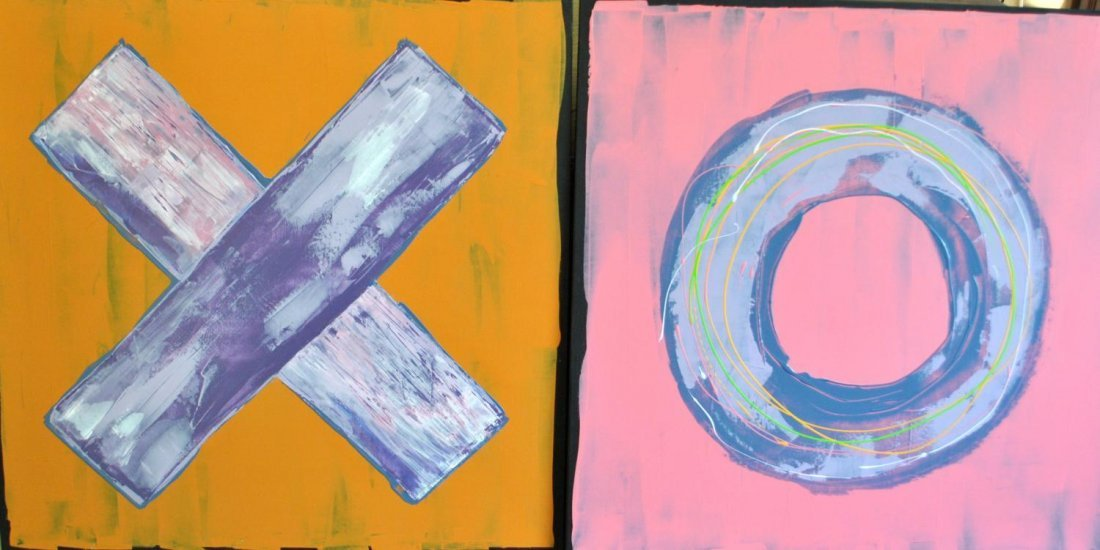 Olthuis, Stan  (Canadian), XO DIPTYCH