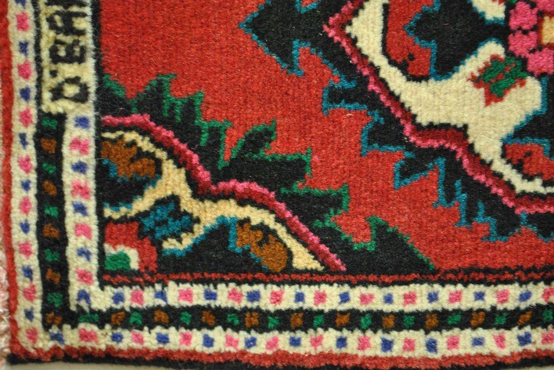 A PERSIAN WOOL ON COTTON HAMADAN,