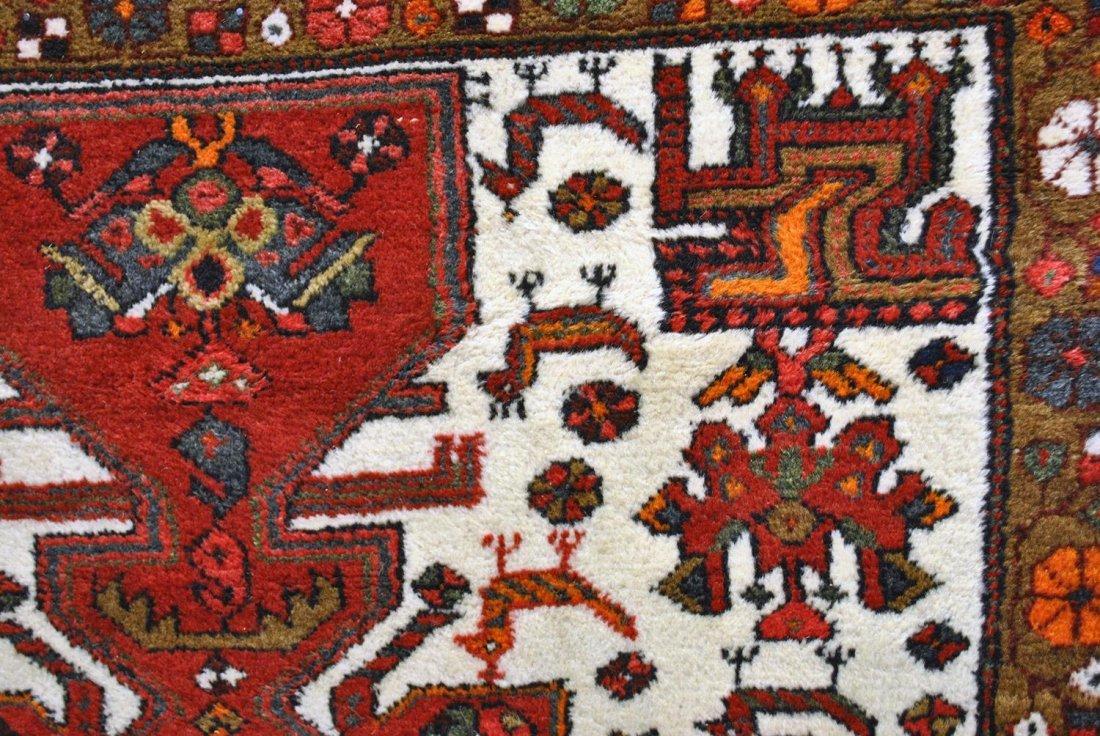 A SMALL HAND-KNOTTED PERSIAN HAMADAN (GOCHAN-TURKMEN),
