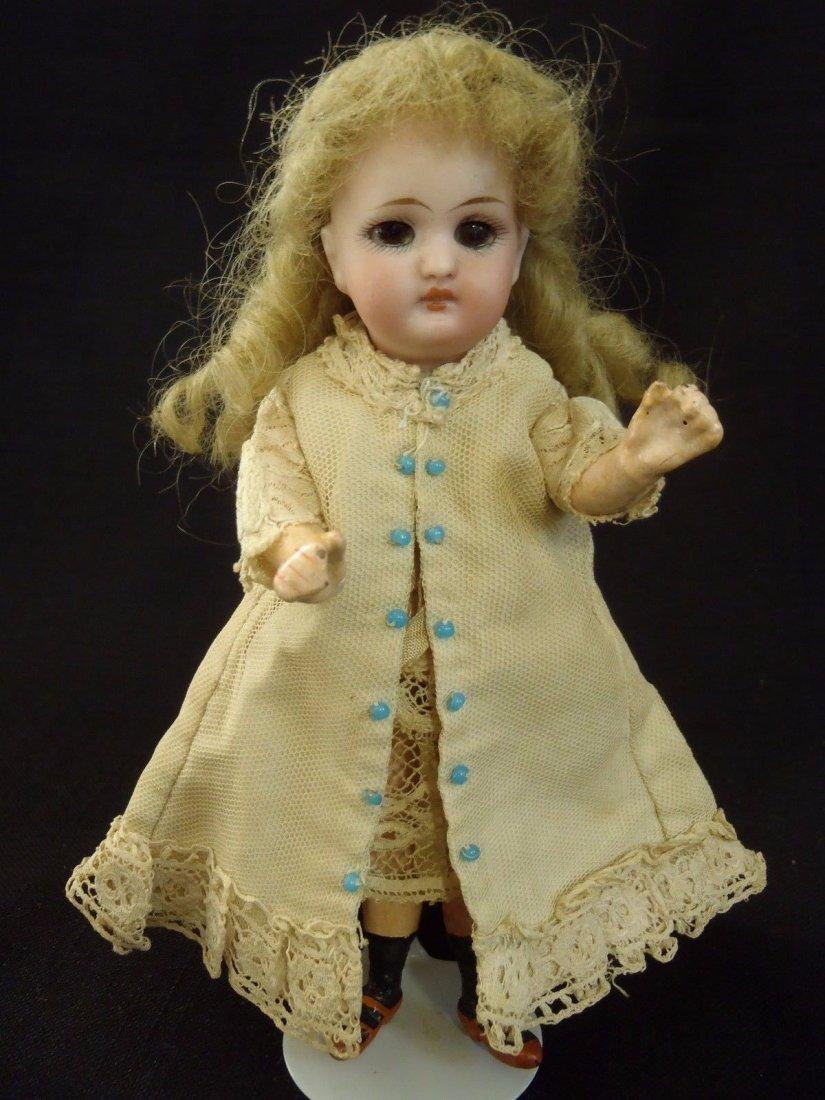 "1870's Simon & Halbig 878 German bisque Walking Doll 6"""