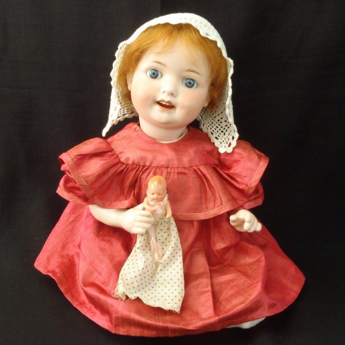 HEUBACH KOPPELSDORF 300-2 BABY IN ANTIQUE DRESS