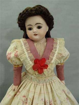 Rare KESTNER LETTER G Bisque Turned head Character Doll