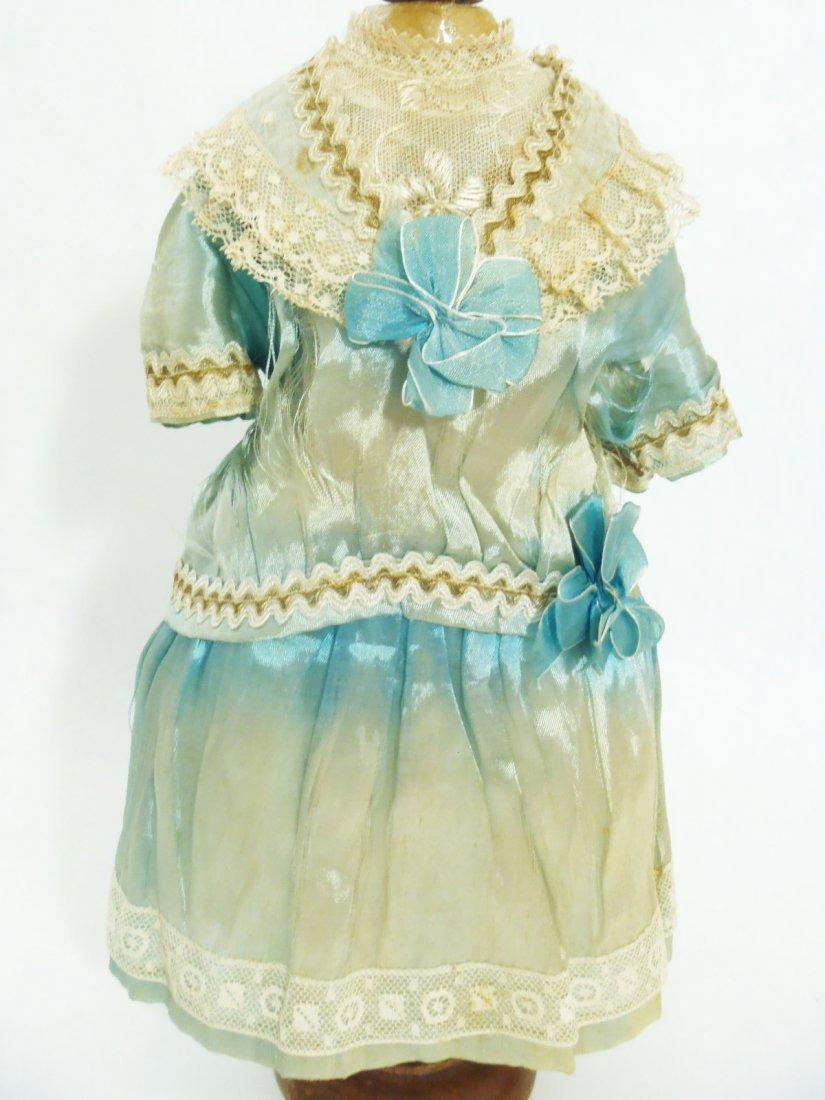 Art Deco Flapper silk BEBE Dress & original Bonnet for - 2