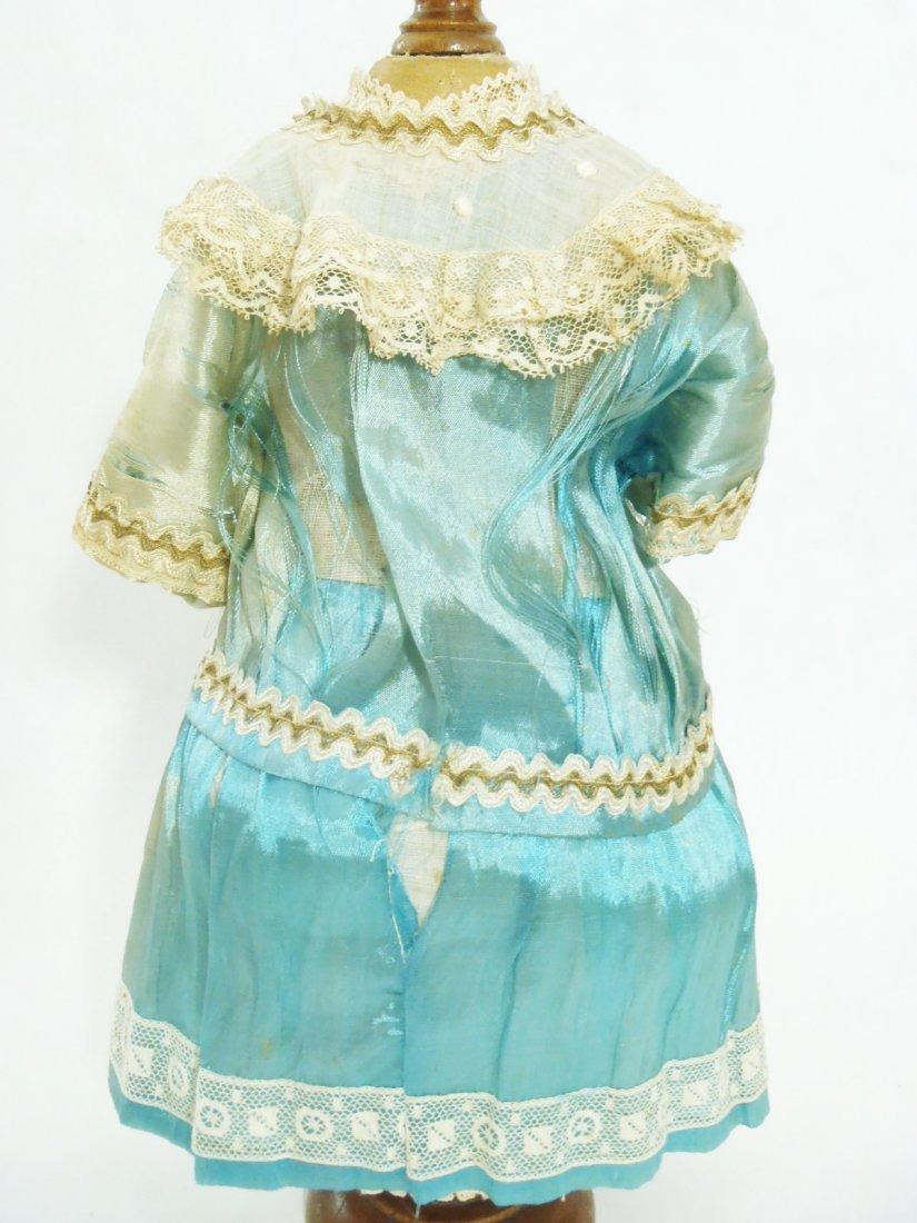 Art Deco Flapper silk BEBE Dress & original Bonnet for - 3