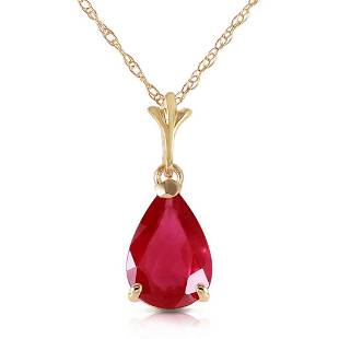 175 Carat 14K Solid Gold House Of Flesh Ruby Necklace
