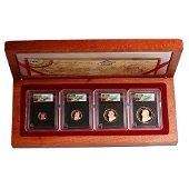 South Africa 2005 4 Coin First Strike Krugerrand Set