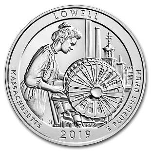 2019 Silver 5oz Lowell National Historical Park MA ATB