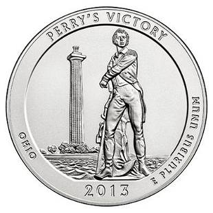 2013 Silver 5oz Perrys Victory ATB