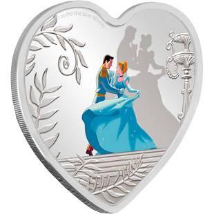 2020 Niue Cinderella 70th Anniversary 1oz Silver Coin