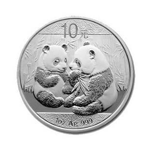 2009 Chinese Silver Panda 1 oz