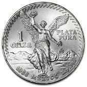 1986 1 oz Mexican Silver Libertad