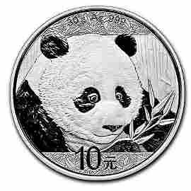 2018 Chinese Silver Panda 30 Gram