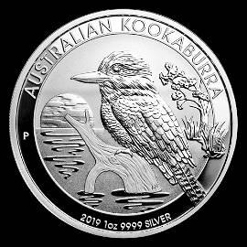 Australian Kookaburra 1 Oz. Silver 2019