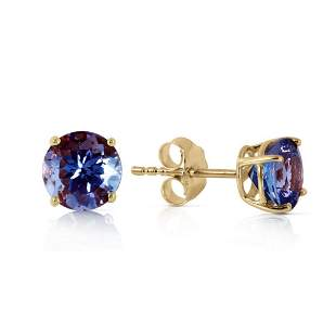 0.95 Carat 14K Solid Gold Joy In Your Eyes Tanzanite Ea