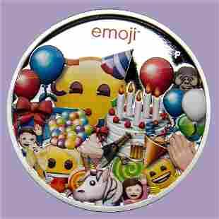 2020 Australia 1 oz Silver $1 emoji? Celebration Proof
