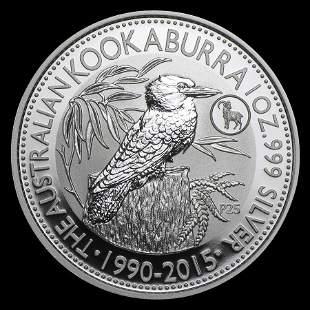Australian Kookaburra 1 oz. Silver 2015 (Goat Privy)