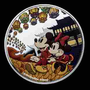 2020 Niue 1 oz Silver $2 Disney Year of the Mouse - Hap