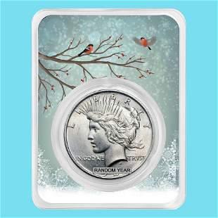 1922-1935 Peace Silver Dollar Snowy Birds BU (Random Ye