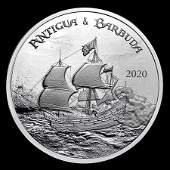 2020 Antigua & Barbuda 1 oz Silver Rum Runner Uncircula