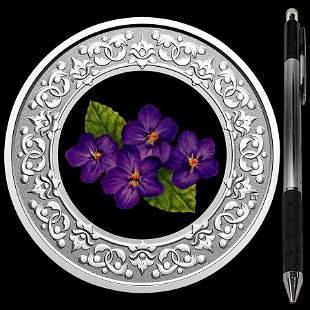 Collectible Floral Emblems - New Brunswick: Violet 2020