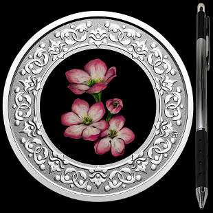 Collectible Floral Emblems - Nova Scotia Mayflower 2020
