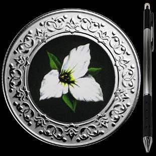 Collectible Floral Emblems - Ontario: White Trillium 20