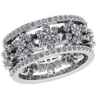 2.47 Ctw VS/SI1 Diamond 14K White Gold Ring