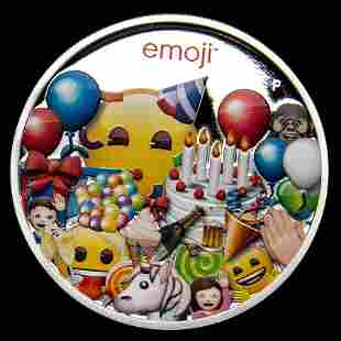 Collectible emoji? Celebration Proof 2020 Australia 1 o