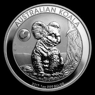 Australian Koala 1 oz Silver 2017 (Rooster Privy)