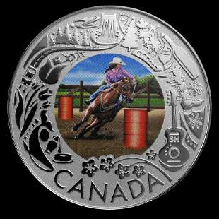 2019 RCM 1/4 oz Silver $3 Celebrating Canadian Fun: Rod