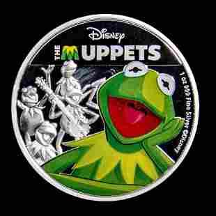 2019 Niue 1 oz Silver Disney The Muppets Kermit
