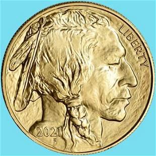 2021 Gold Buffalo 1 oz $50 - BU