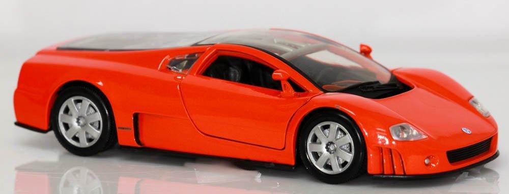 COLLECTIBLE DIE CAST 01' VW NARDO W12 BLACK MODEL CAR - 2