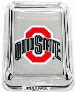 Glass Ashtray- Ohio State Buckeyes