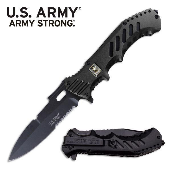 OFFICIALLY LICENSED U.S. ARMY SPRING ASSISTED KNIFE