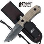 MTECH TACTICAL KNIFEN W/SHEATH
