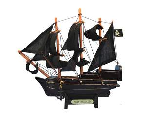 """Hand Made Captain Kidd's Adventure Galley 7"""""""