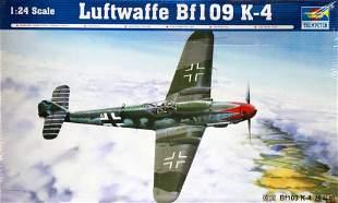 COLLECTORS EDITION LUFTWAFFE BF-109 K-4 MODEL PLANE