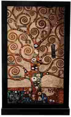 TREE OF LIFE ART GLASS DECORATION