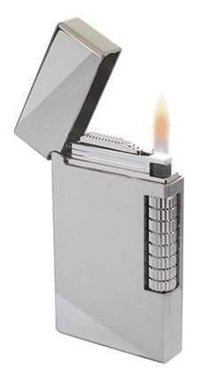 Visol Sultan Chrome Flint Lighter