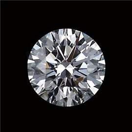 GIA CERT 0.32 CTW ROUND DIAMOND E/SI2