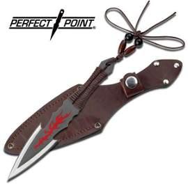 """7"""" THROWING KNIFE W/SHEATH"""