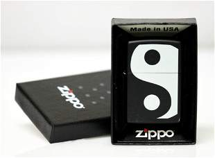 """GENUINE ZIPPO LIGHTER """"Y&Y"""" MADE IN THE USA"""
