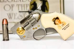 WILD WEST EDITION BILLY THE KID GUN KNIFE W/ BULLET KNI