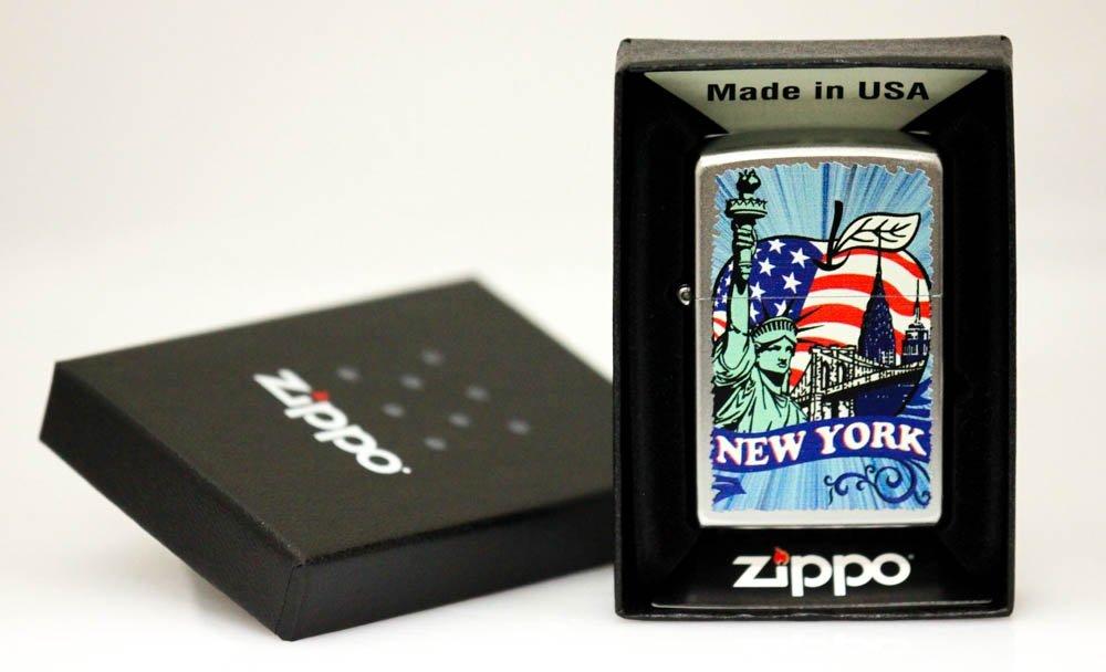 "GENUINE ZIPPO LIGHTER ""NEW YORK LADY LIBERTY"""
