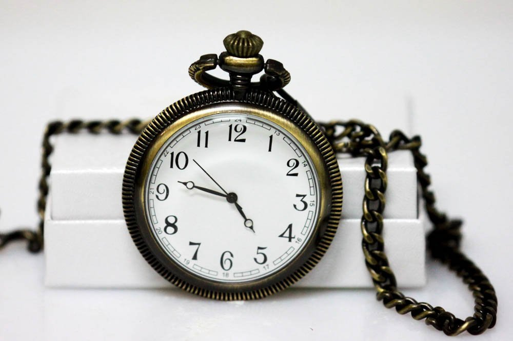 COLLECTIBLE OLD FASHIONED QUARTZ POCKET WATCH