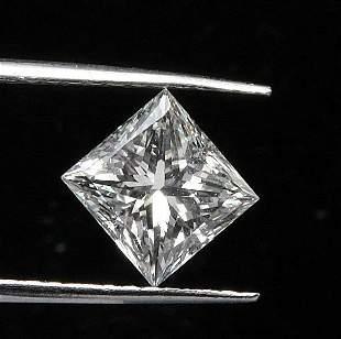 EGL CERT 1.13 CTW PRINCESS DIAMOND E/SI2