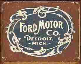 FORD METAL SIGN